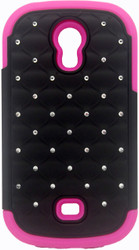 Samsung Galaxy Light T399 Dual Bling Case Pink