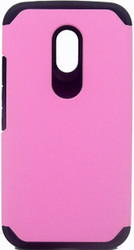 Motorola Moto G 2nd Gen ASMYNA Pink/Black Astronoot Phone Protector Cover