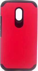 Motorola Moto G 2nd Gen ASMYNA Red/Black Astronoot Phone Protector Cover