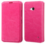 Microsoft Lumia 640 MYBAT Hot Pink MyJacket Wallet(with Tray)(with Package)