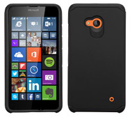Microsoft Lumia 640 ASMYNA Black/Black Astronoot Phone Protector Cover