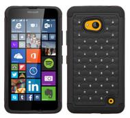 Microsoft Lumia 640 ASMYNA Black/Black FullStar Protector Cover