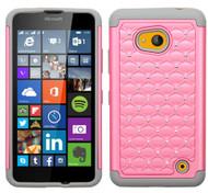 Microsoft Lumia 640 ASMYNA Pearl Pink/Gray FullStar Protector Cover