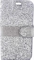 HTC Desire 626/626S MM Jewel Wallet Silver