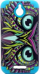HTC 510 Desire Slim Dual Owl Design Blue