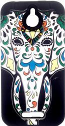 HTC 510 Desire Slim Dual Elephant Design Black