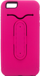 iphone 6 Plus/6S PLUS Snap Tail Hybrid Case With Kickstand Pink