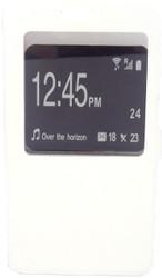 Samsung Note 3  Caller ID Flip Wallet White