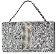 "Jewel Pouch Large (5.5""-6.5"") Silver"