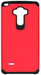 LG Stylo MM Slim Dura Case Red