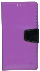 LG Stylo MM Executive Wallet Purple