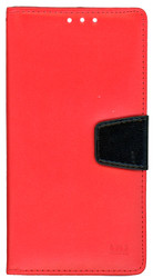 LG Stylo MM Executive Wallet Red