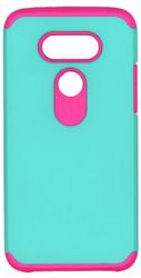 LG G5 MM Slim Dura Case Green & Pink