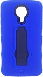 ZTE N817 Armor Horizontal With Kickstand Blue