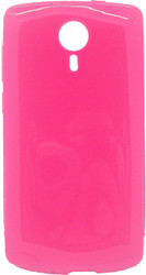 ZTE N817 TPU Transparent Pink