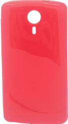 ZTE N817 TPU Transparent Red