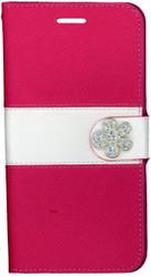 Iphone 6 Plus/6S Plus MM Flower Wallet Pink