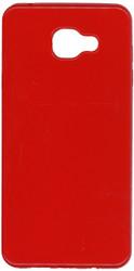 Samsung Galaxy A7 TPU Transparent Red