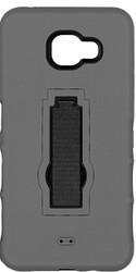 Samsung Galaxy A7 Armor Horizontal With Kickstand Grey