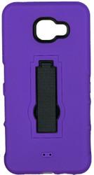 Samsung Galaxy A7 Armor Horizontal With Kickstand Purple