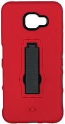 Samsung Galaxy A7 Armor Horizontal With Kickstand Red