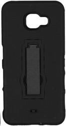 Samsung Galaxy A7 Armor Horizontal With Kickstand Black