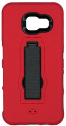 Samsung Galaxy A3 Armor Horizontal With Kickstand Red