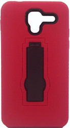 Kyocera Hydro View Armor Horizontal With Kickstand Red