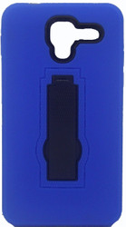 Kyocera Hydro View Armor Horizontal With Kickstand Blue