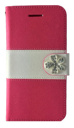 Samsung Galaxy Avant MM Flower Wallet Pink