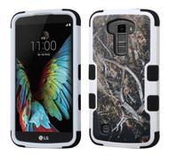 LG K10 MYBAT Yellow/Black Vine/Black TUFF Hybrid Phone Protector Cover
