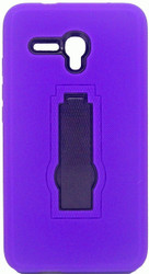 Alcatel Fierce XL Armor Horizontal With Kickstand Purple