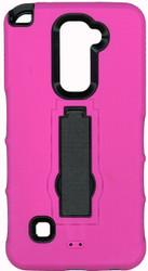 LG Stylo 2  Armor Horizontal With Kickstand Pink
