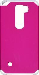 LG Stylo 2 MM Slim Dura Case Pink&White