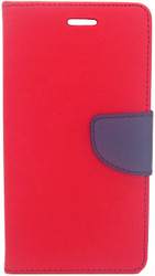 LG Stylo 2 Professional Wallet Red
