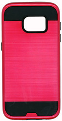 Samsung Galaxy S7 Slim Dura Metal Finish Red