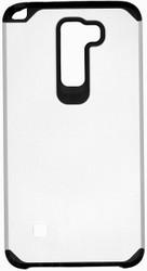 LG Stylo 2 MM Slim Dura Case Silver