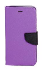 Motorola E2 LTE CDMA Professional Wallet Purple