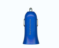 Car Charger Adapter 1.2A Blue