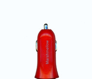 Car Charger Adapter 1.2A Red