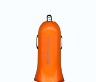 Car Charger Adapter 1.2A Orange