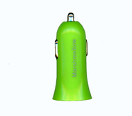 Car Charger Adapter 1.2A Green