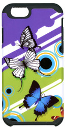 Iphone 6/6S MM Slim Dura Purple Butterfly