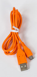 Micro Round USB Cable Orange