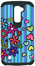 LG K10 MM Flowers&Heart