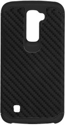 LG K10 MM Slim Dura Carbon Fiber Kevlar Black