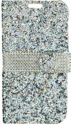 LG K10 MM Jewel Wallet Silver