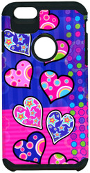 iphone 6 Plus/6S PLUS MM Slim Dura Polka Dot Hearts