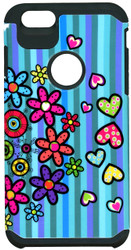 iphone 6 Plus/6S PLUS MM Slim Dura Flowers&Hearts