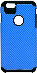 iphone 6 Plus/6S PLUS MM Slim Dura Carbon Fiber Kevlar Blue